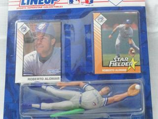 Roberto Alomar MlB Baseball Starting lineup   with Special Series Card