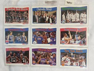 1991 Team Basketball Cards   Almost 30 Years Old
