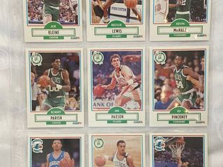 Vintage Basketball Cards   Kevin McHale   Robert Parish   Dell Curry