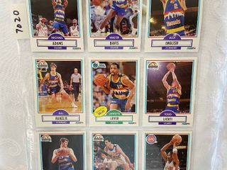 Vintage Basketball Cards   Denver Nuggets   Pistons   Mavs   30 Years Old