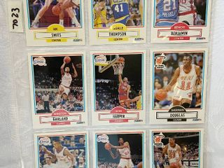 Vintage Basketball Cards   Clippers   Miami Heat   Pacers
