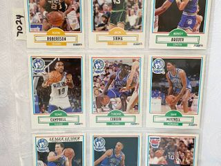 Vintage Basketball Cards   Timberwolves   Nets   Bucks