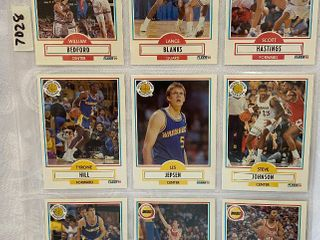Vintage Basketball Cards   Pistons   Golden State   Houston