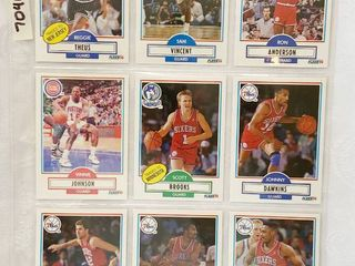 Vintage Basketball Cards   Pistons   76ers   Magic   Nets   Timberwolves