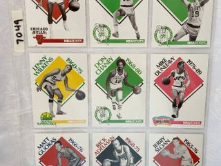Vintage 1990 NBA Hoops Basketball Cards   Coaches