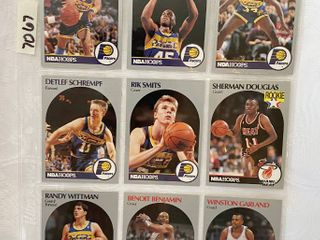 Vintage 1990 NBA Hoops Basketball Cards   Reggie Miller   Smits   Schrempf