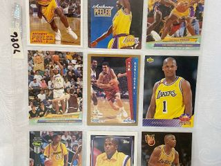 Vintage Basketball Cards   lakers   Bullets
