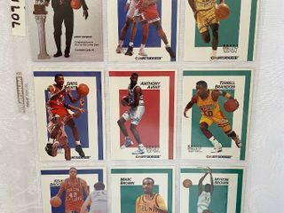 1991 Courtside DRAFT PIX Basketball Cards