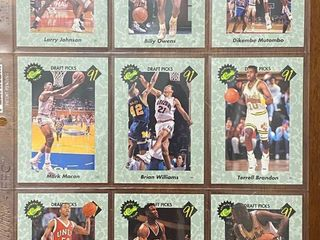 51 Card Complete Set   1991 ClASSICS PREMIERE EDITION   With Check list   Nice Set