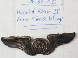 World War II Air Force Wing  Very Very Cool