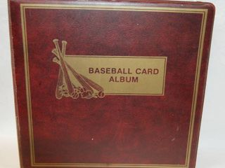 Collectible Baseball Card Album Full of Cards See Photos