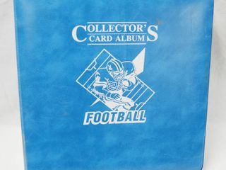Collectible Collectors Album of Football Cards See Photos