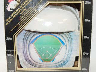 1991 Special Stadium Set   Topps   Collectible Sky Dome Display  In Original Box