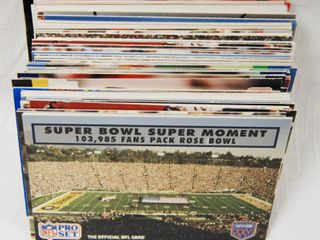 lot of Football Card Collection   Kansas City Chiefs  Raiders  etc  See Photos
