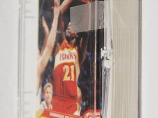lot of Basketball Cards  in Plastic Holder  See Photos