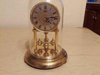 Hermle Anniversary Clock   Plastic Dome