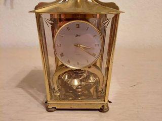 Schatz Brass and Glass Clock