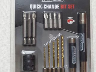 15 pc  quick change bit set
