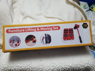 Furniture lifting and moving set