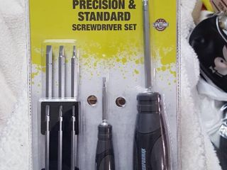 10 pc  Precision   Standard screwdriver set