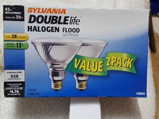 2 pack halogen flood bulbs