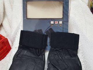 Security Tactical Gloves with steel shot knuckles  Size large