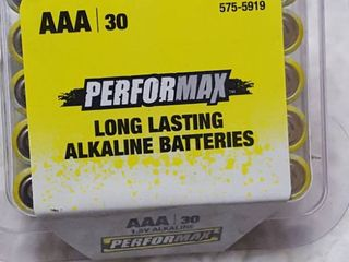 30 pack AAA batteries  Sept 2029 shelf life
