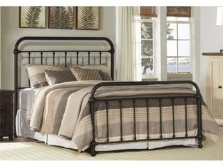 Full Kirkland Bed Set Bronze   Hillsdale Furniture