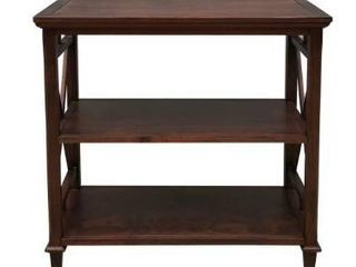 Bishop X Side Bookcase  Retail 121 49