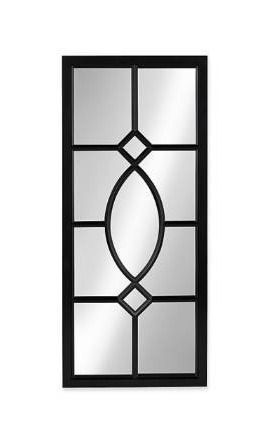 Kate and laurel Casset Window Wall Accent Mirror
