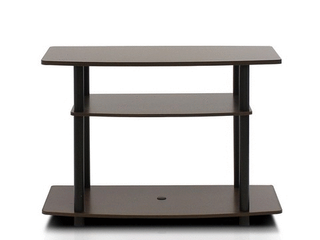 Furinno Turn N Tube No Tools  3 Tier TV Stands for 32  TV