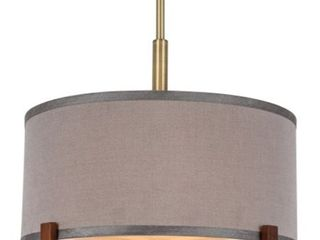 Woodbridge lighting 13422BRB S Brendan Pendant  Retail 226 99