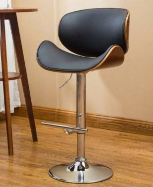 Strick   Bolton lega Modern Adjustable Swivel Barstool  Retail 98 99