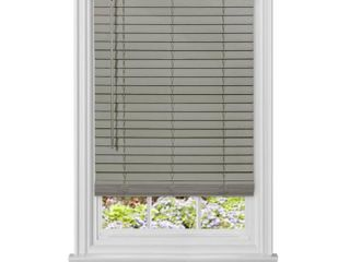 Achim Cordless GII Madera Falsa 2  Faux Wood Plantation Blind 48 x 64