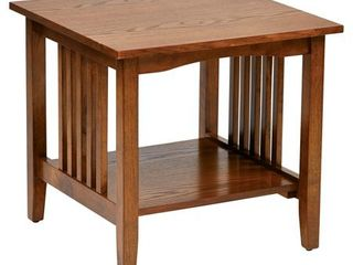Sierra End Table Brown   OSP Home Furnishings