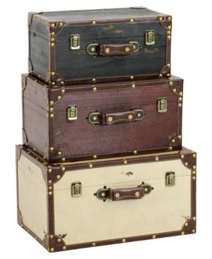 Torrance Wood Trunks  Set of 3