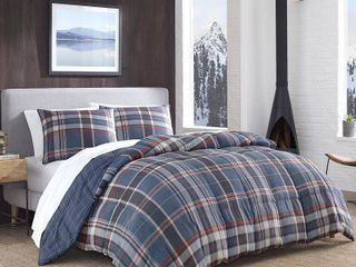 Eddie Bauer Shasta lake Navy Comforter Set  Twin