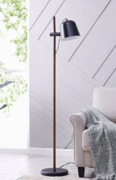 Strick   Bolton latigo Scandinavian Black Metal Floor lamp  Retail 94 99