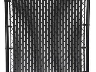 12 packages 4ft Top locking Chain link Fence Slats Black