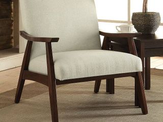 Davis Upholstered Armchair linen   OSP Home Furnishings