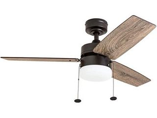 Prominence Home Reston 42 Inch Espresso Bronze Indoor lED Ceiling Fan