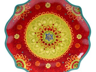 Certified International Tunisian Sunset Round Platter  13 25