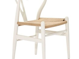 Set of 2 Poly and Bark Weave Chair  Retail 306 49