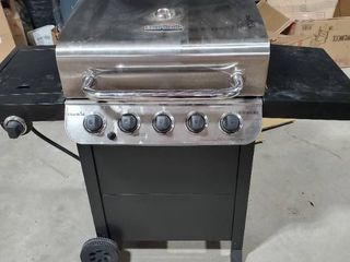 Char Broil Perfomance 5 Burner Propane Grill with Side Burner