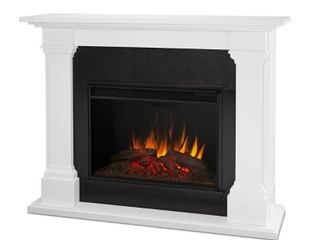 Fireplace insert NOT Included Callaway Grand Fireplace Mantle White