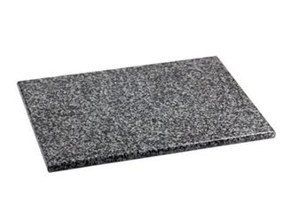 Home Basics CB01881 Granite Cutting Board  large  Gray