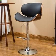 Mid century Modern Height adjustable Swiveling Bar Stool  Retail 91 99