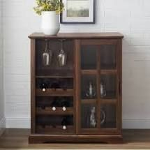 Copper Grove 36 inch Sliding Glass Door Bar Cabinet  Retail 227 99