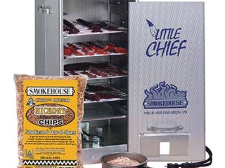 Smokehouse little Chief 250W Front load 25 pound Capacity Smoker   Retail 116 99