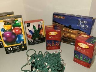 Assorted Christmas light